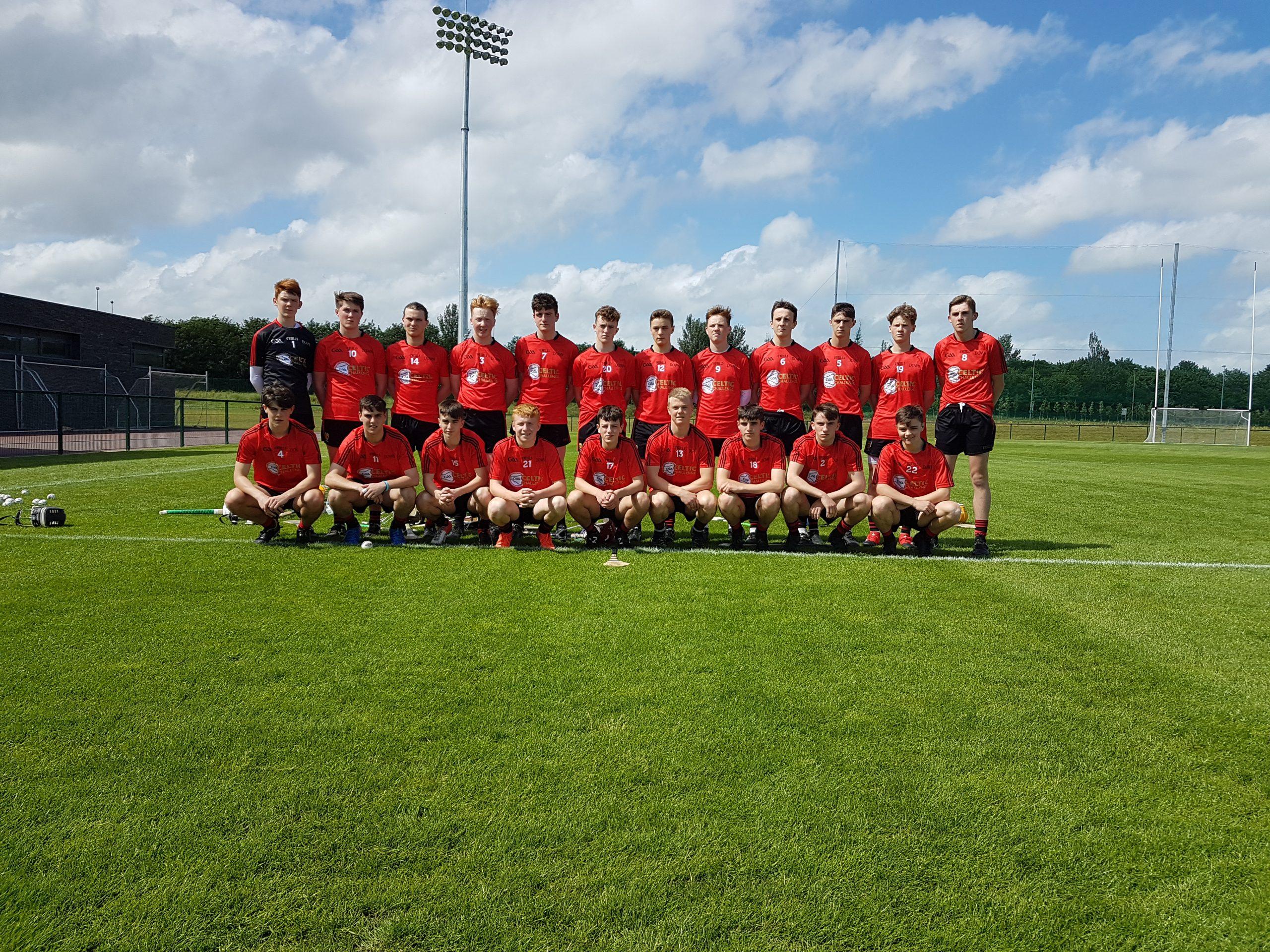 Down progress to the All-Ireland semi-final of the Corn William Robinson