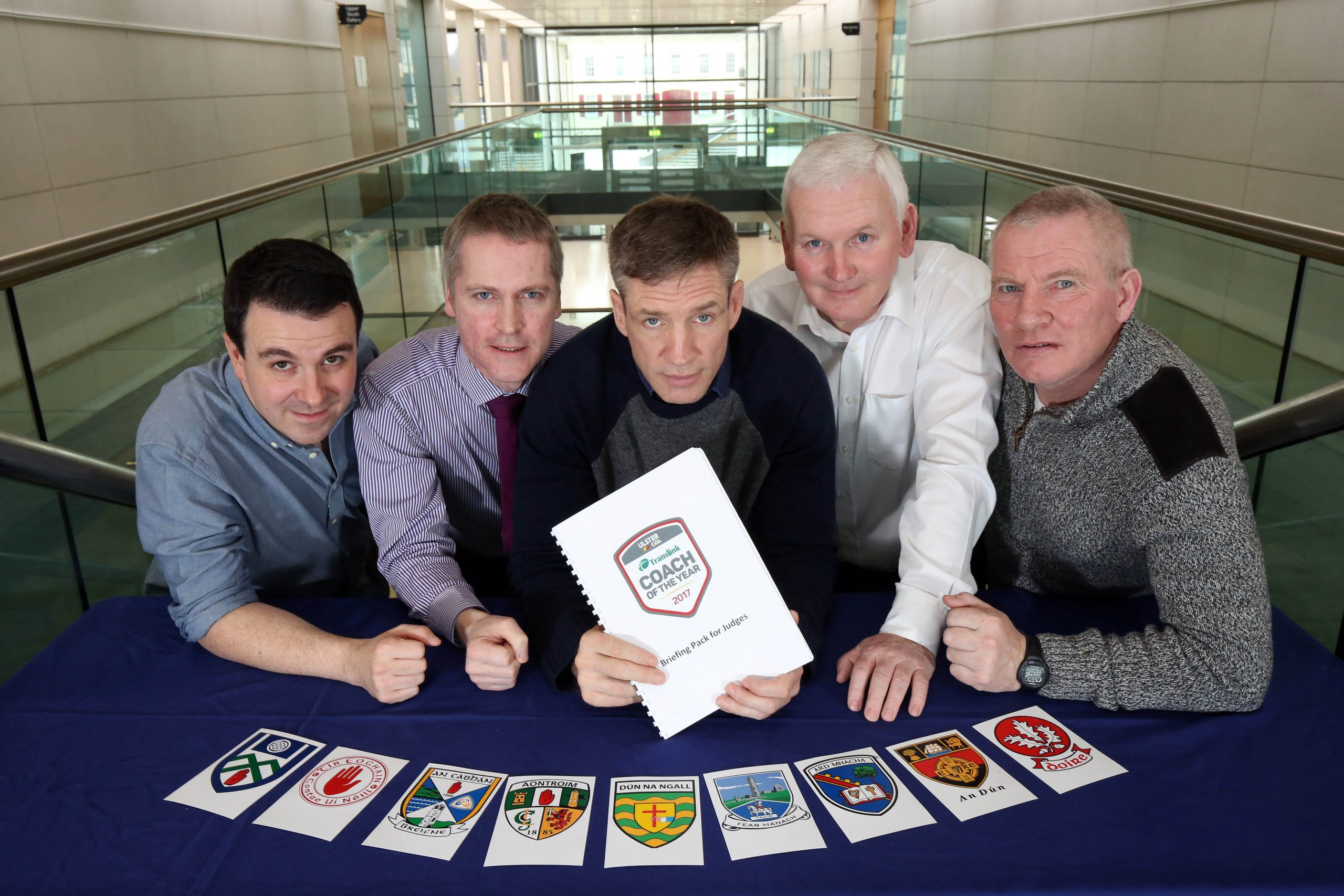 Shortlist announced for Translink Ulster GAA Coach of the Year