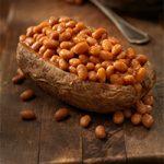 Baked potato & baked beans