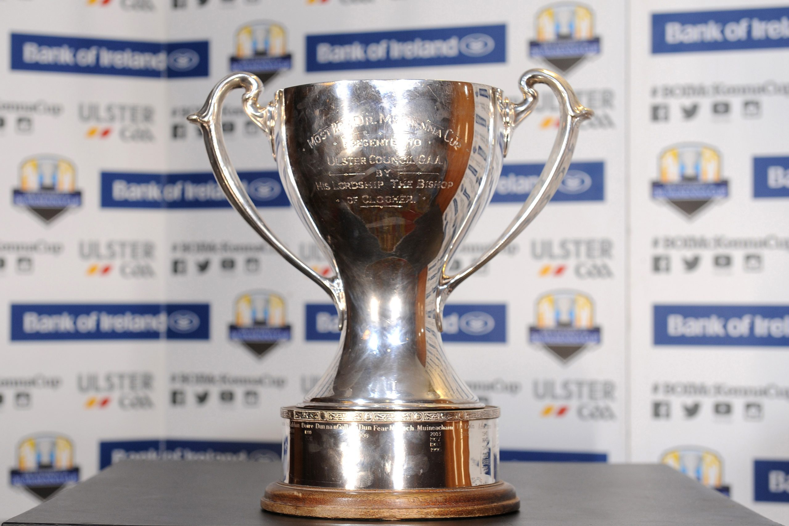 Bank of Ireland Dr McKenna Cup Competition Tickets Available Now