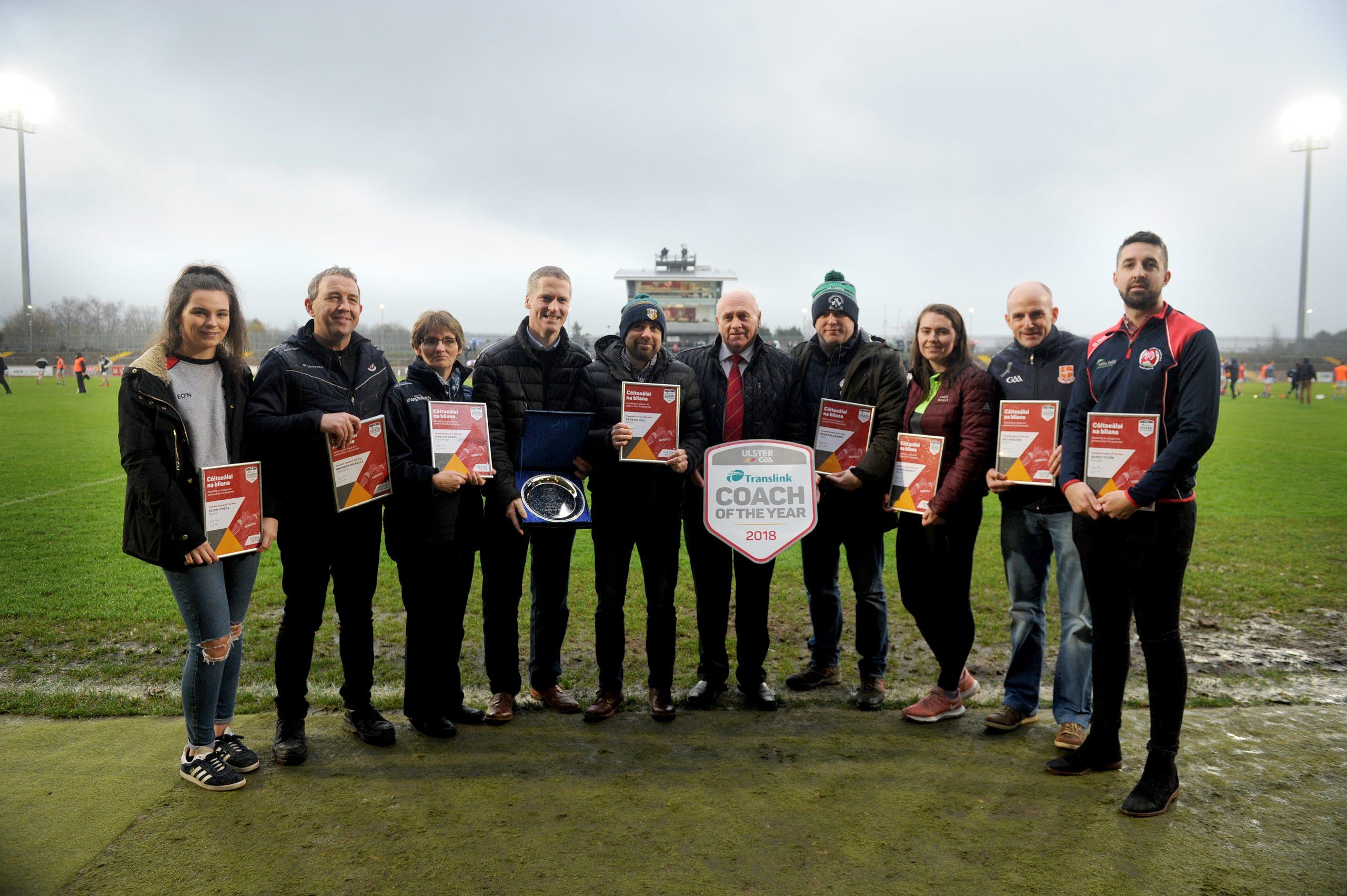 Gort na Móna clubman wins Translink Ulster GAA Coach of the Year award