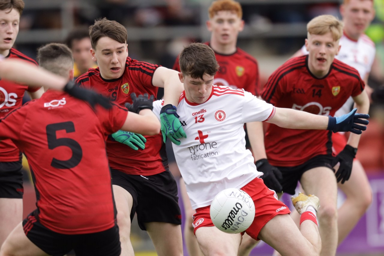 Tyrone advance to the Electric Ireland Ulster Minor Football Championship