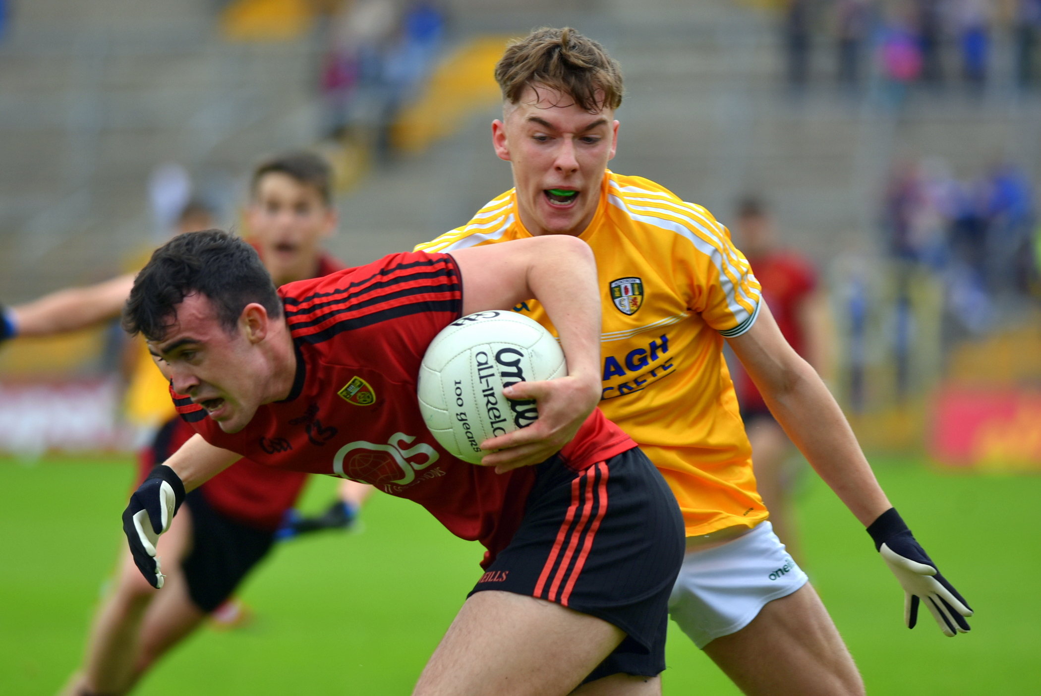 Down advance in EirGrid Ulster Under 20 championship