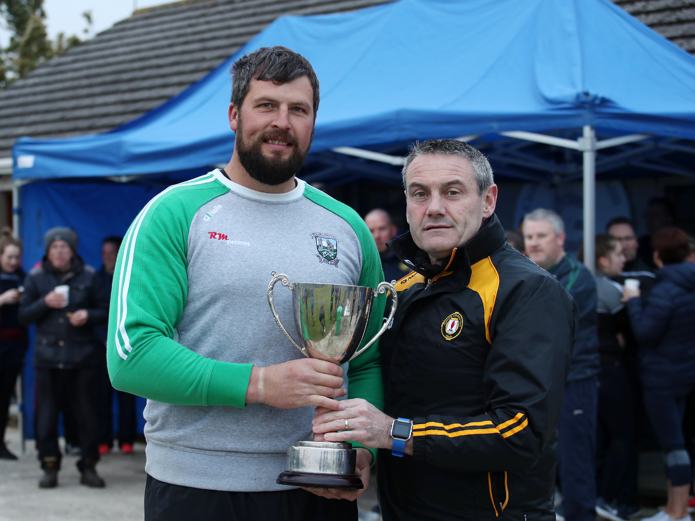 Johnson and Dougan claims Ulster Poc Fada titles