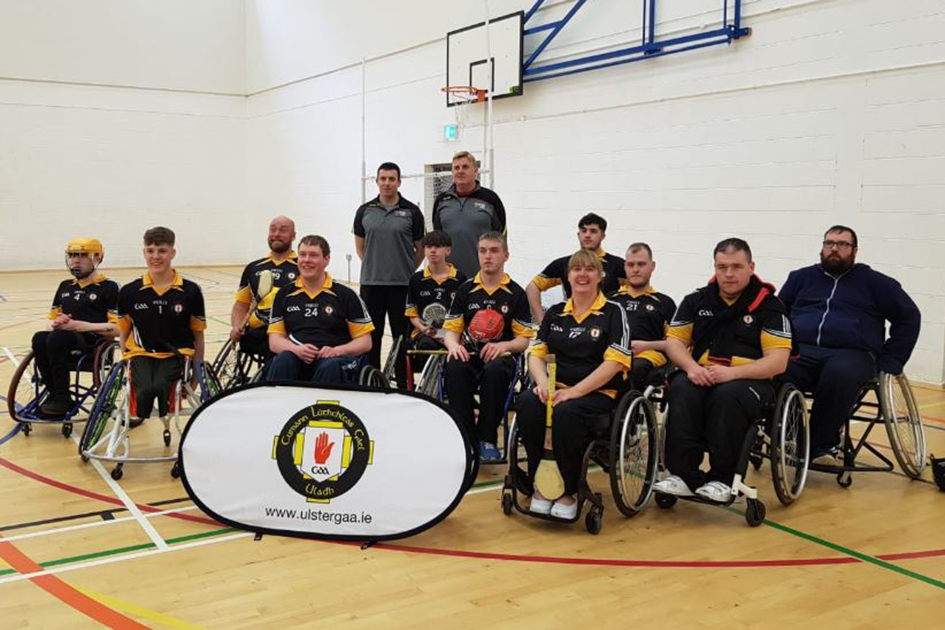 Ulster GAA host Interprovincial Wheelchair Hurling League