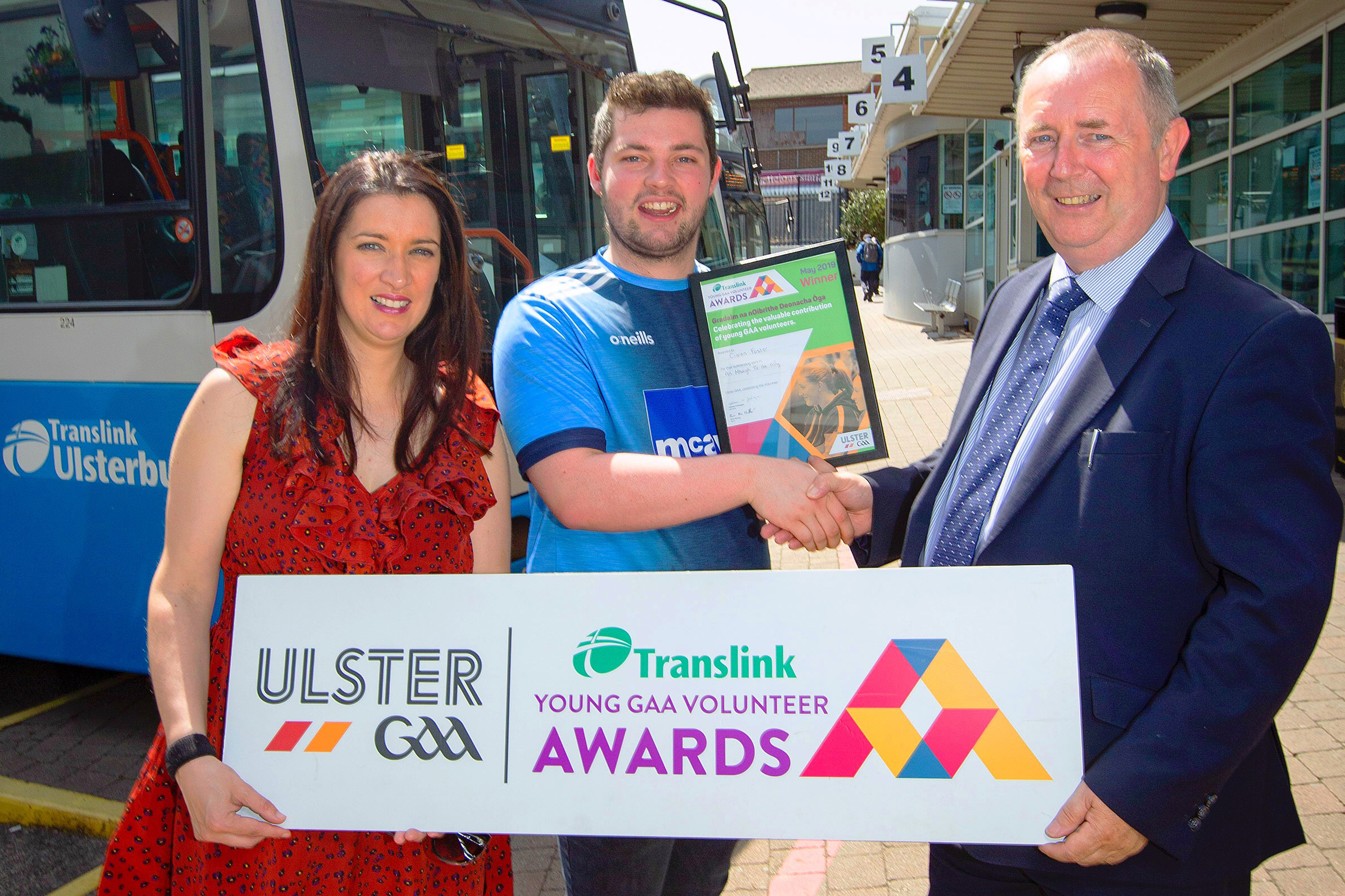 Exemplary young coach wins Translink Young Volunteer for May