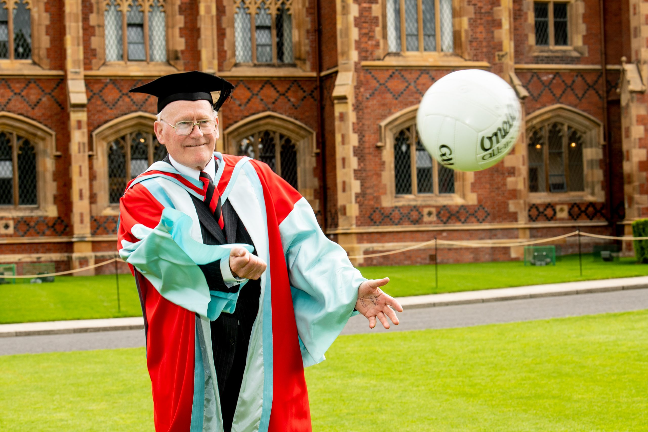 Down legend conferrred with Honorary Degree