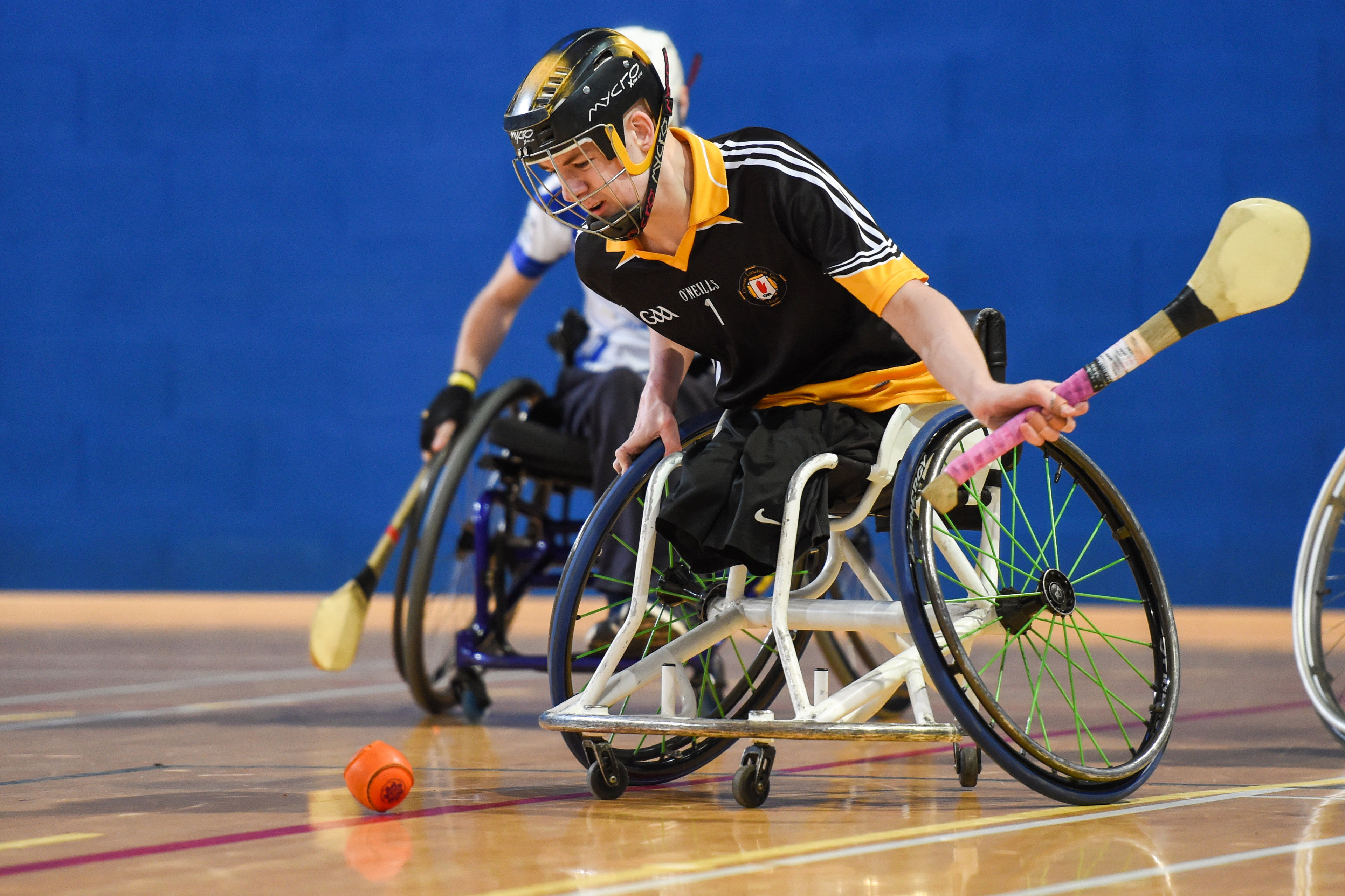 Ulster Wheelchair Hurlers in the running for National Lottery 25th Birthday Awards