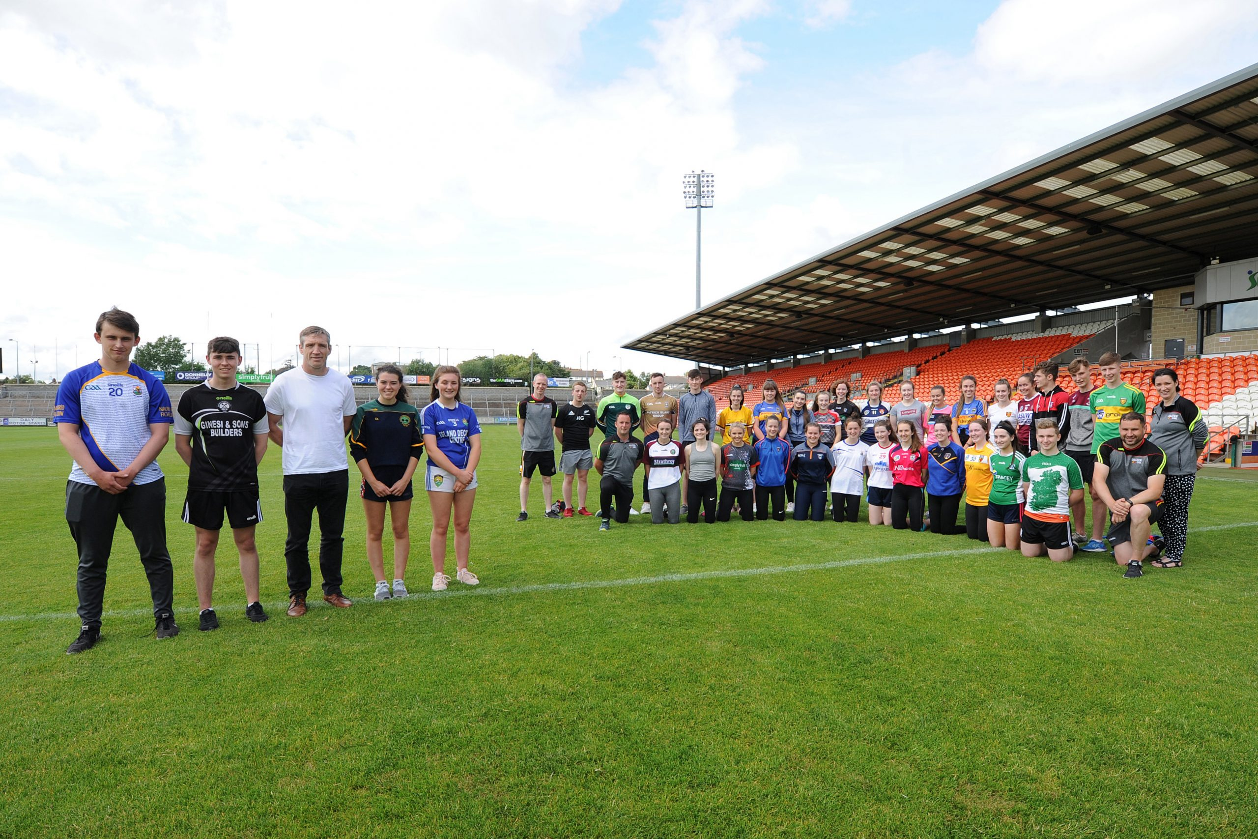 Ulster GAA Young Leaders learn from the best
