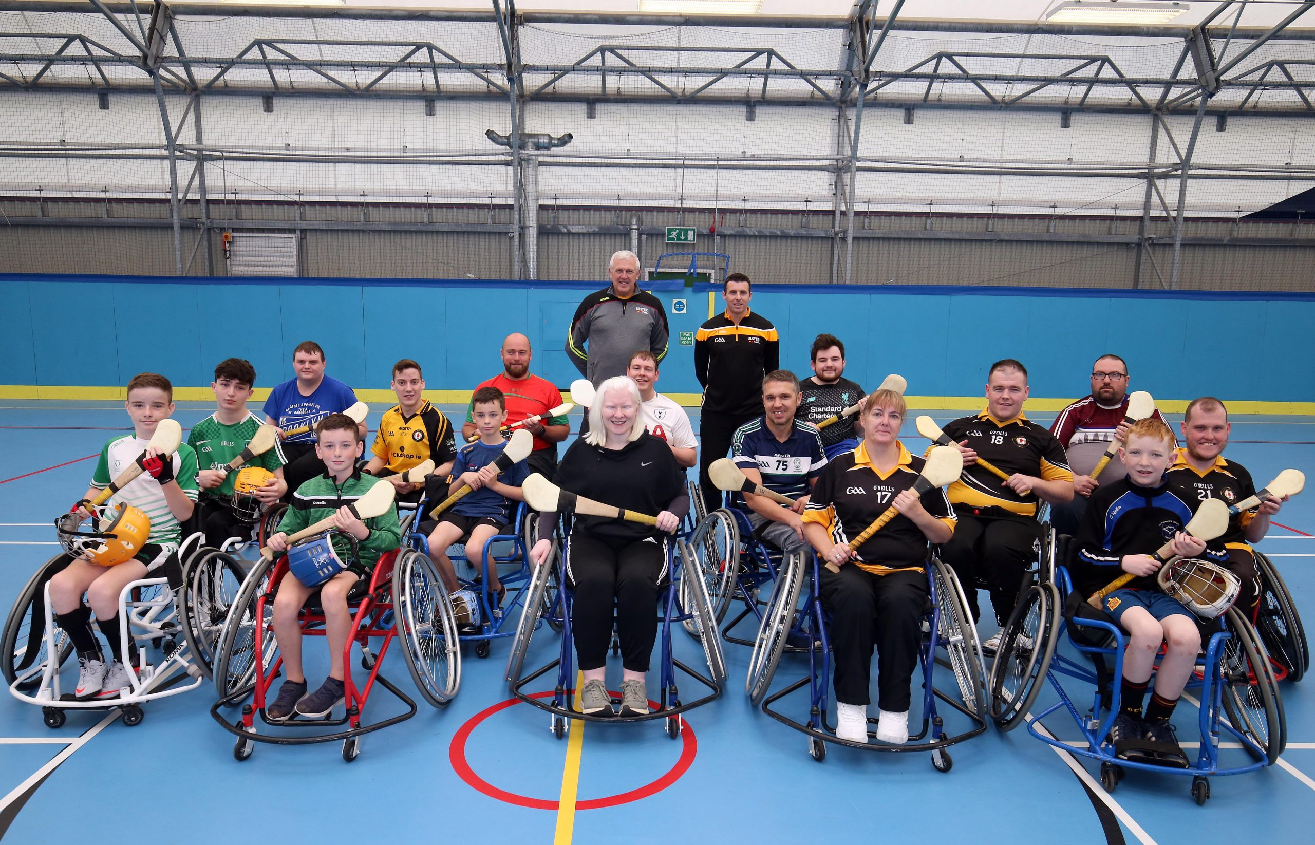 Golden Girl Kelly swaps the slopes for a sliotar as she and Wheelchair Hurling project chase awards glory