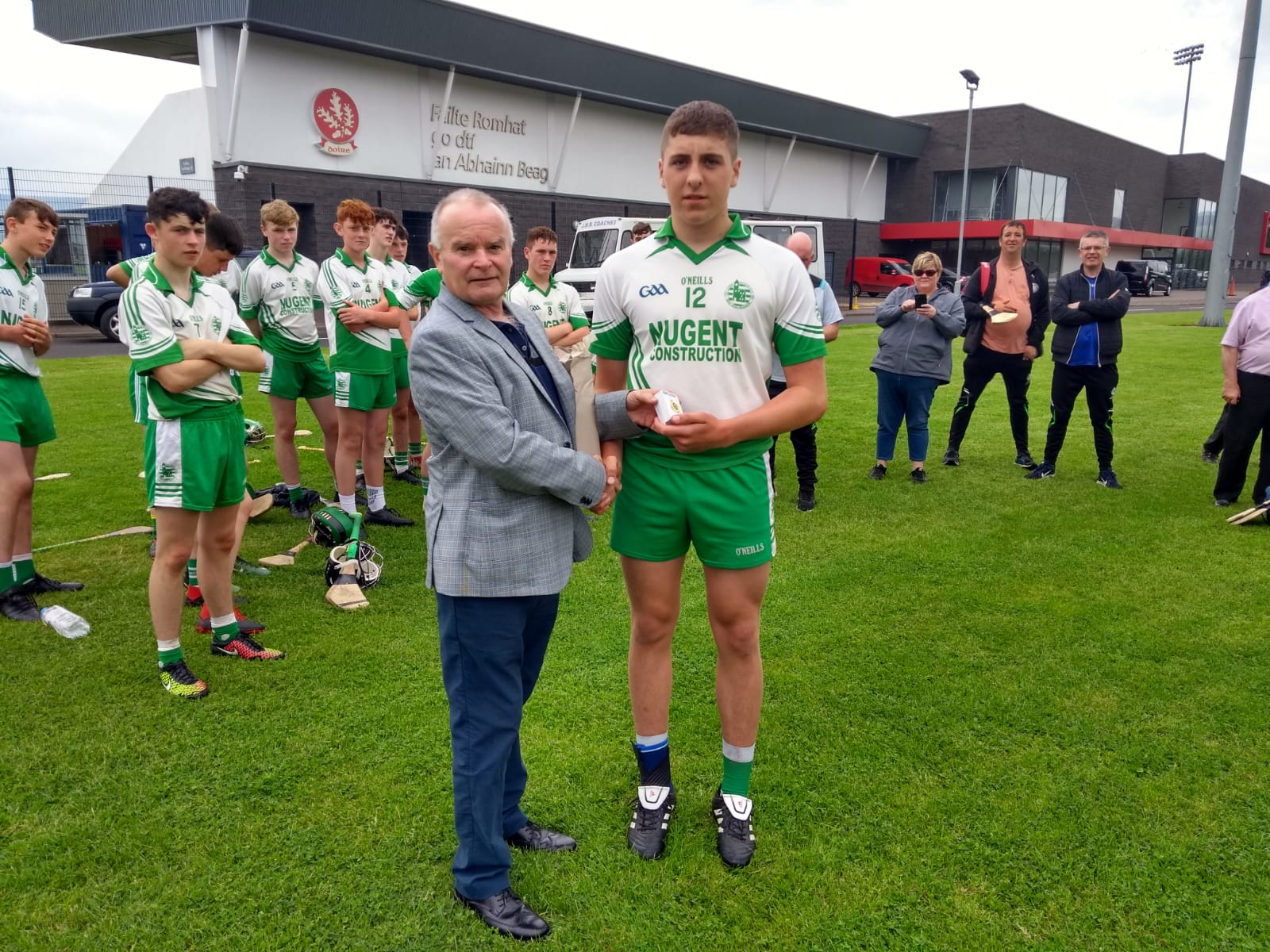 Donegal's Aodh Ruadh win Ulster U15 Hurling Óg Sport Final