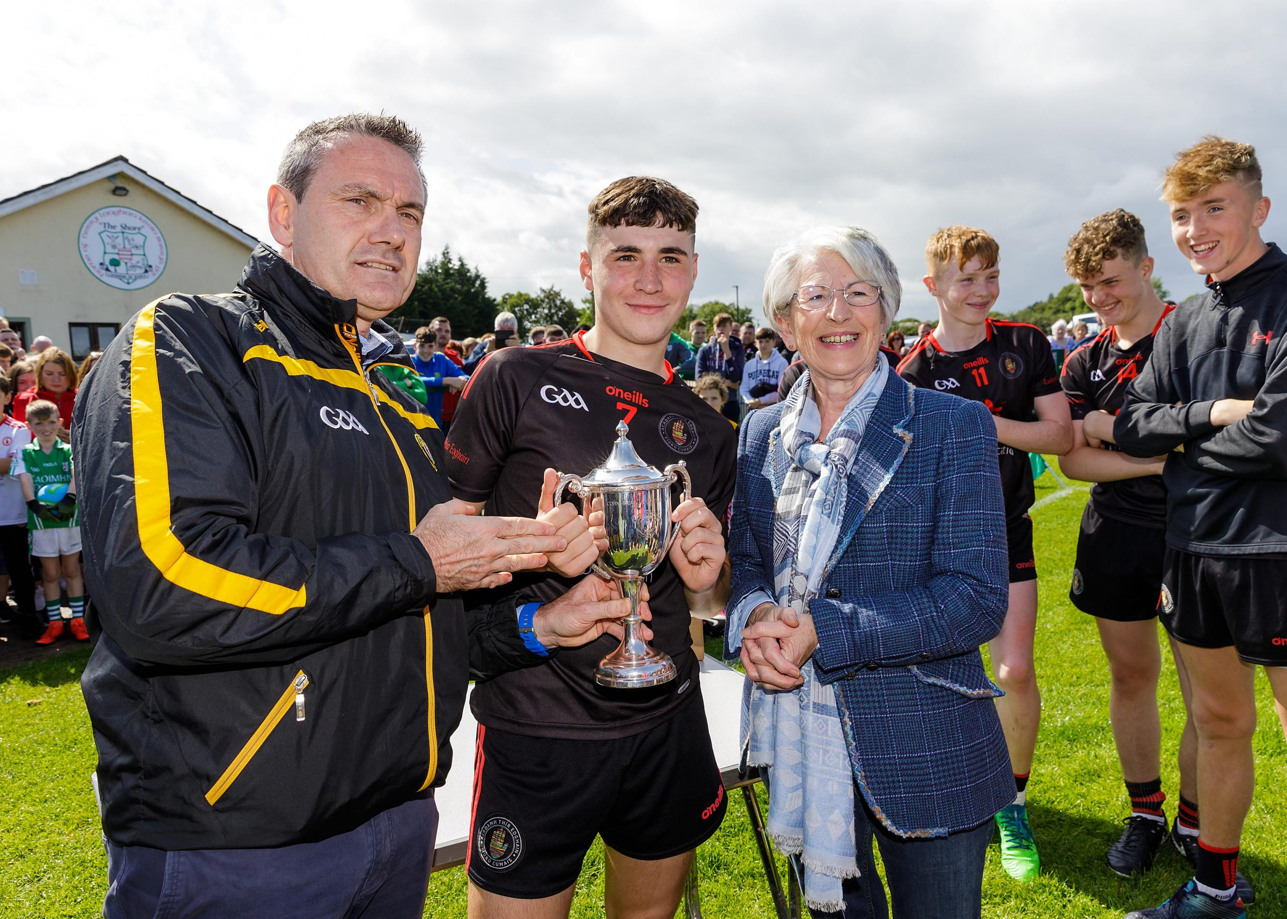 Tyrone Under 15s claim Brian McLernon Cup