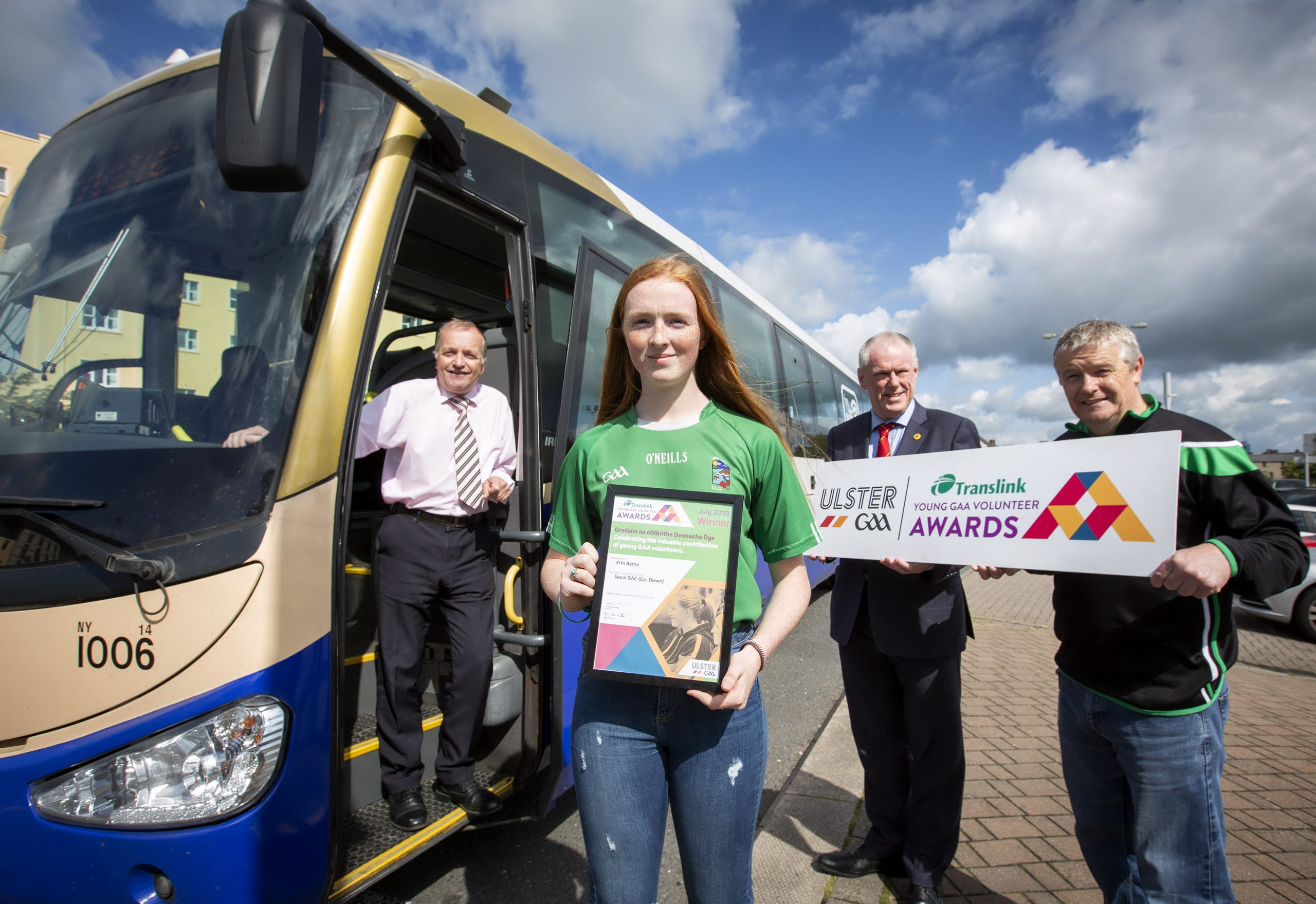 July Young Volunteer Winner is a role model for her County Down club