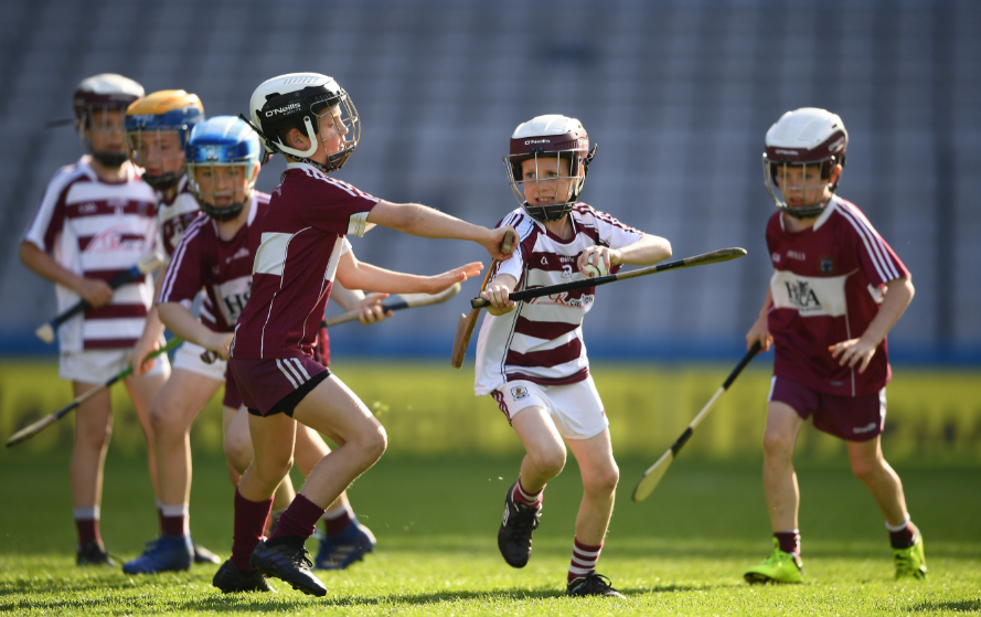Underage teams from across the Province play at Croke Park