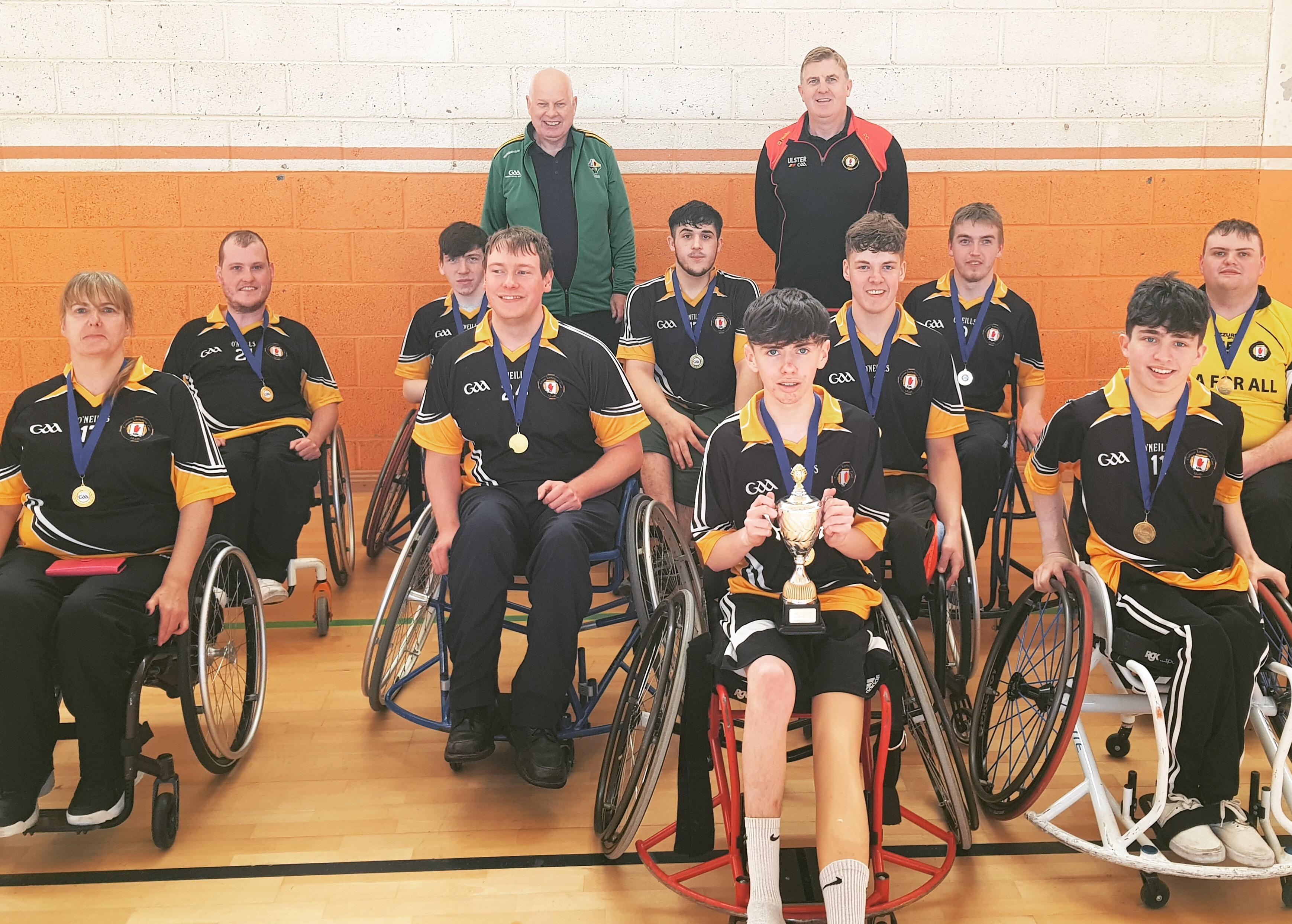 Ulster GAA Wheelchair Hurlers crowned All-Ireland Champions