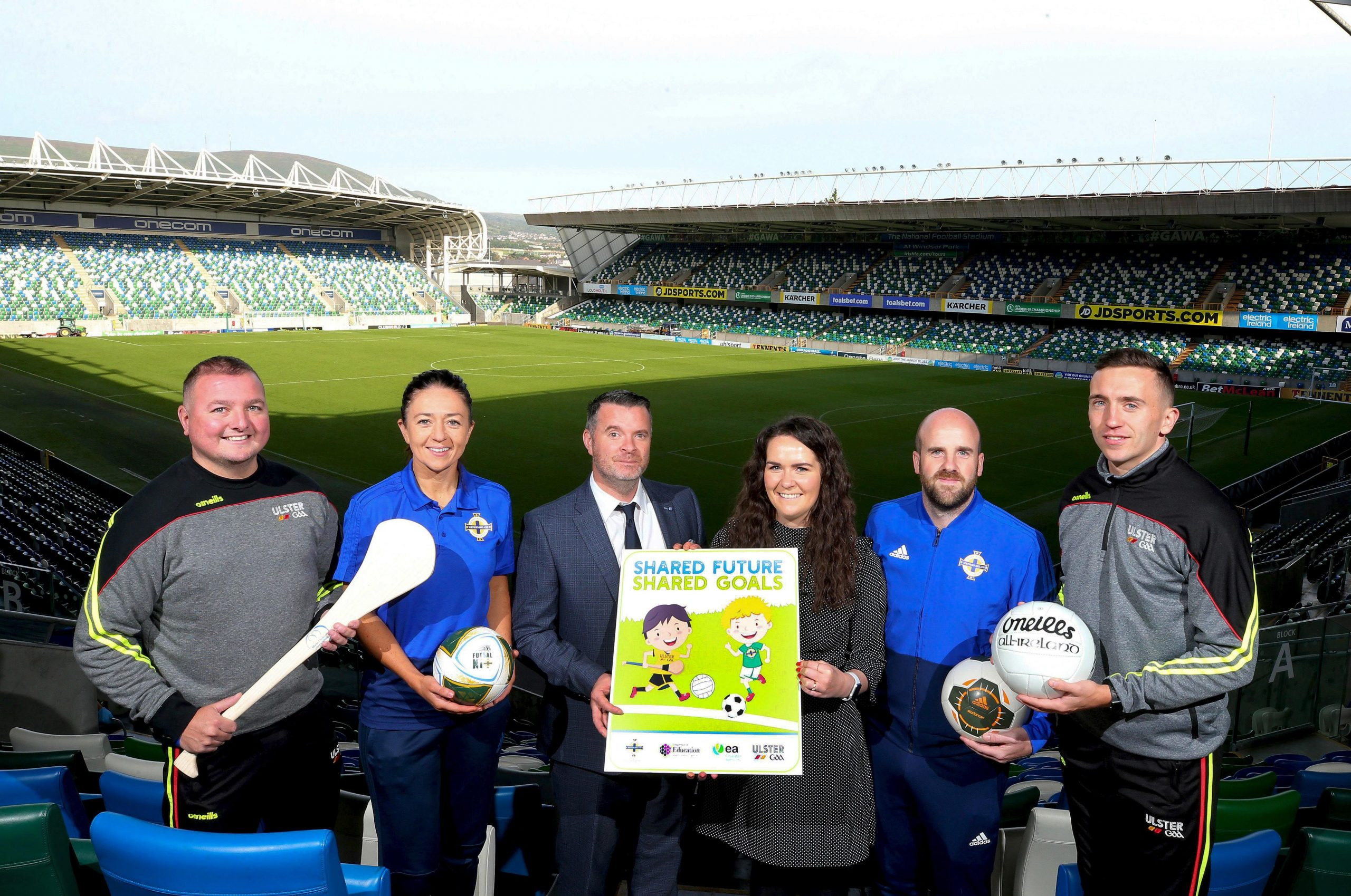 Ulster GAA and Irish FA launch new programme in primary schools