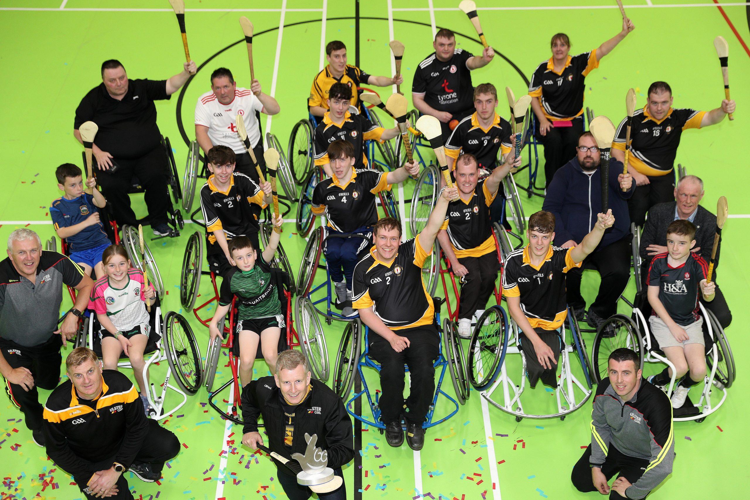 Kielty crowns Wheelchair Hurlers Awards Champions