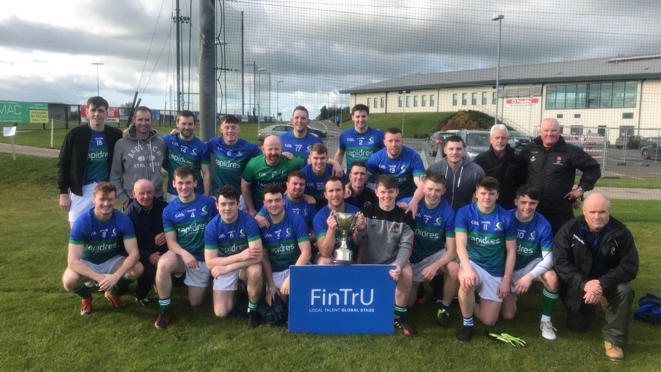 Creagh Concrete claim the 2019 FinTrU Ulster GAA Senior Mens Inter-Firms Cup