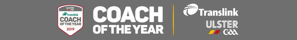 Translink Ulster GAA Coach of the Year 2019