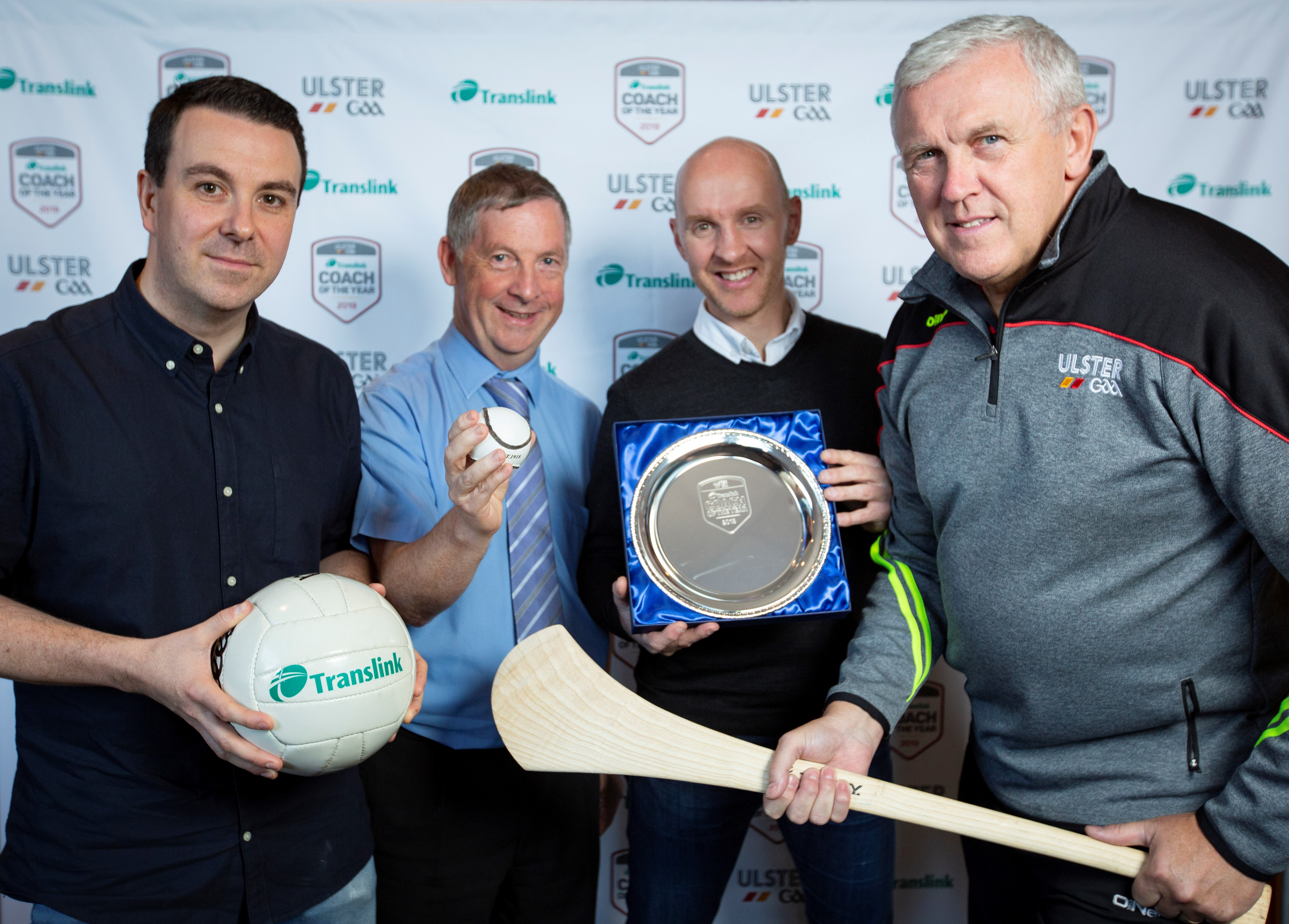Translink Ulster GAA 'Coach of the Year' finalists on cloud 9