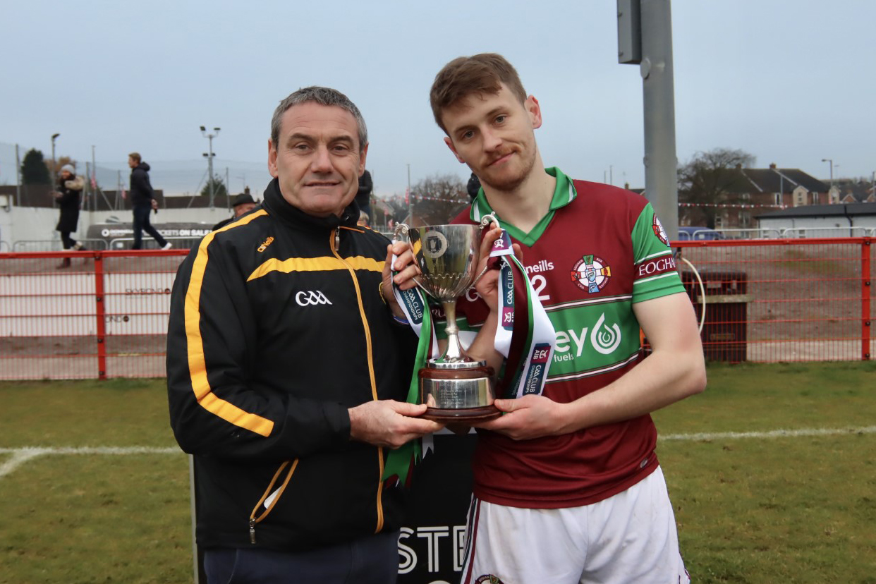 Eoghan Rua crowned AIB Ulster Hurling Junior Club champions