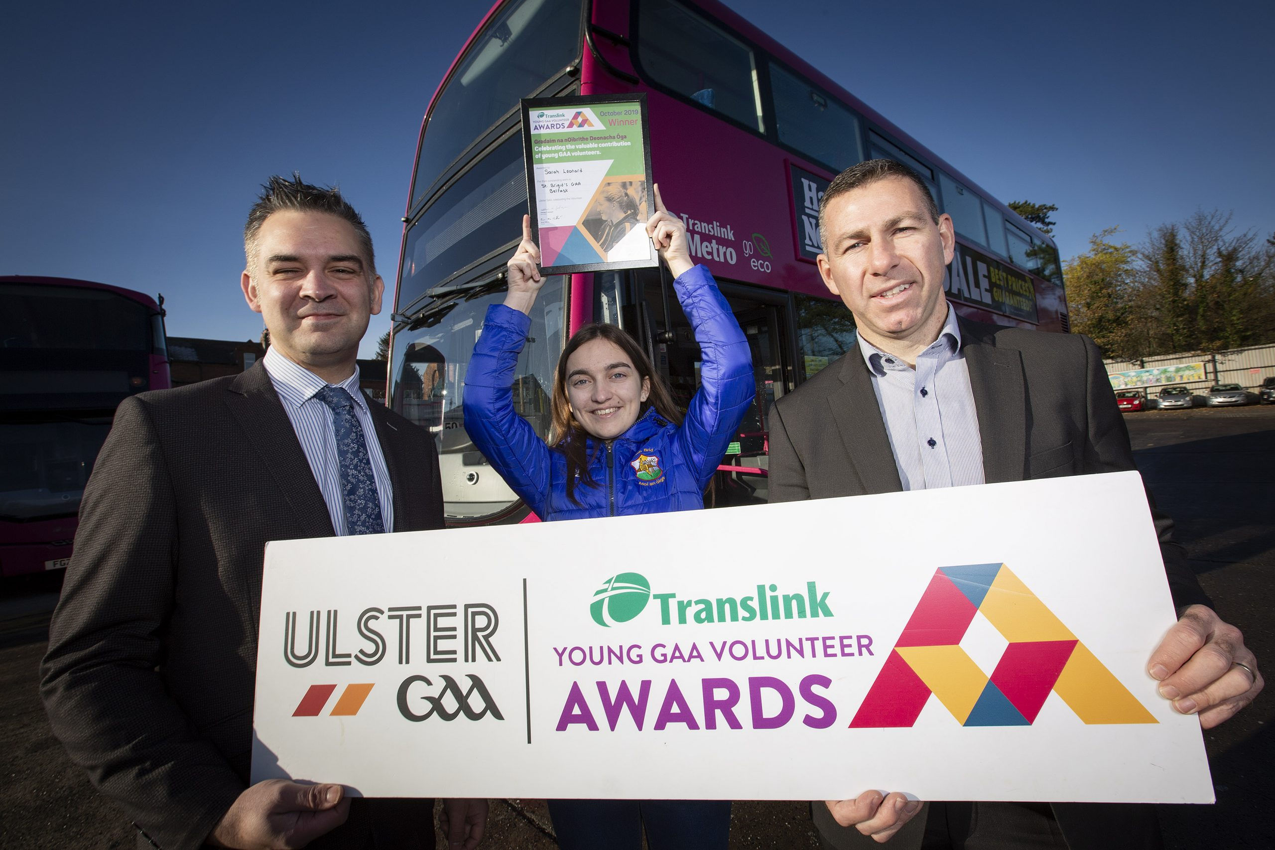 Hardworking young coach wins Translink Young Volunteer for October