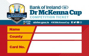 McKenna Cup Card