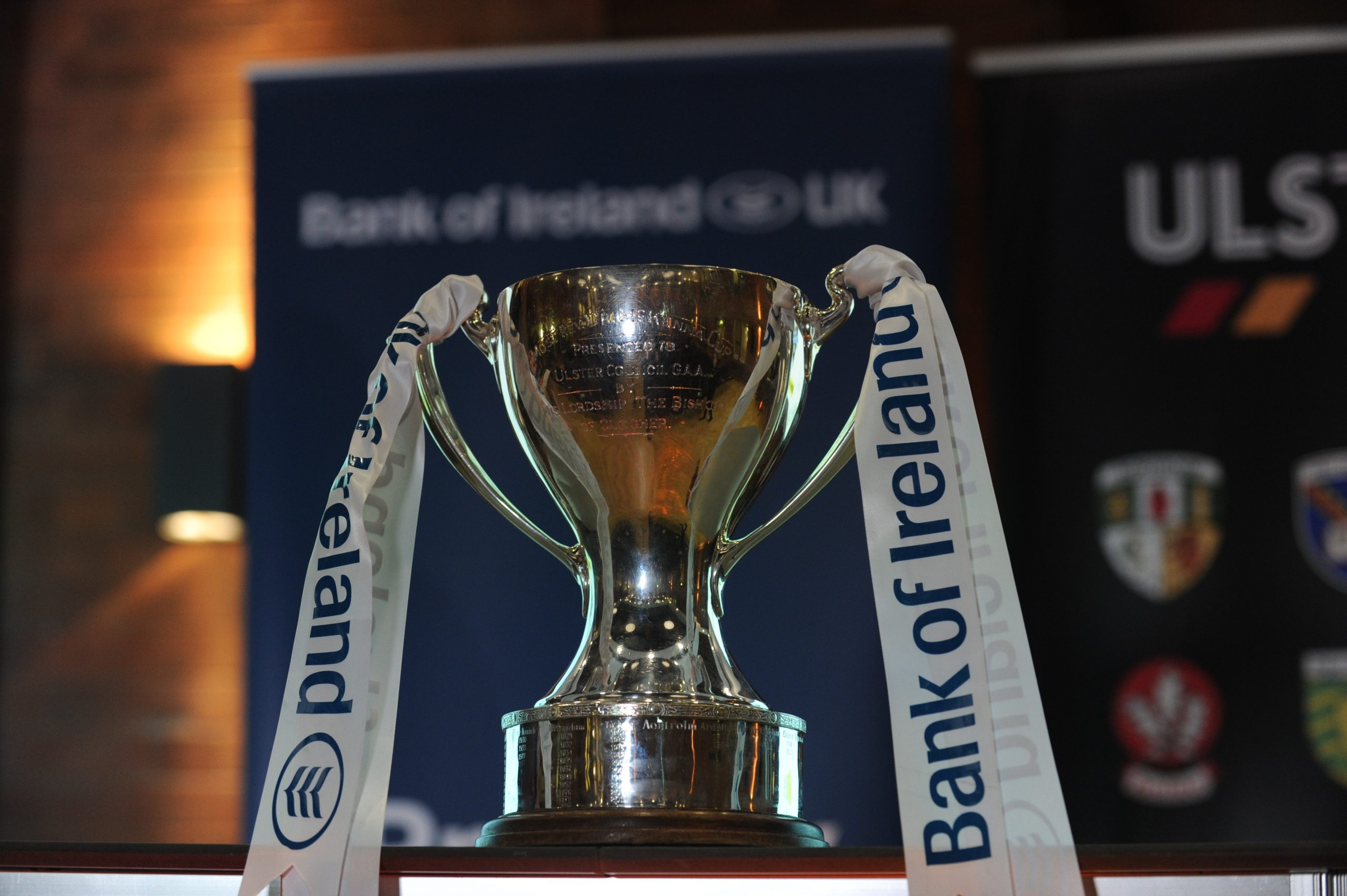 Ulster GAA statement on Bank of Ireland Dr McKenna Cup