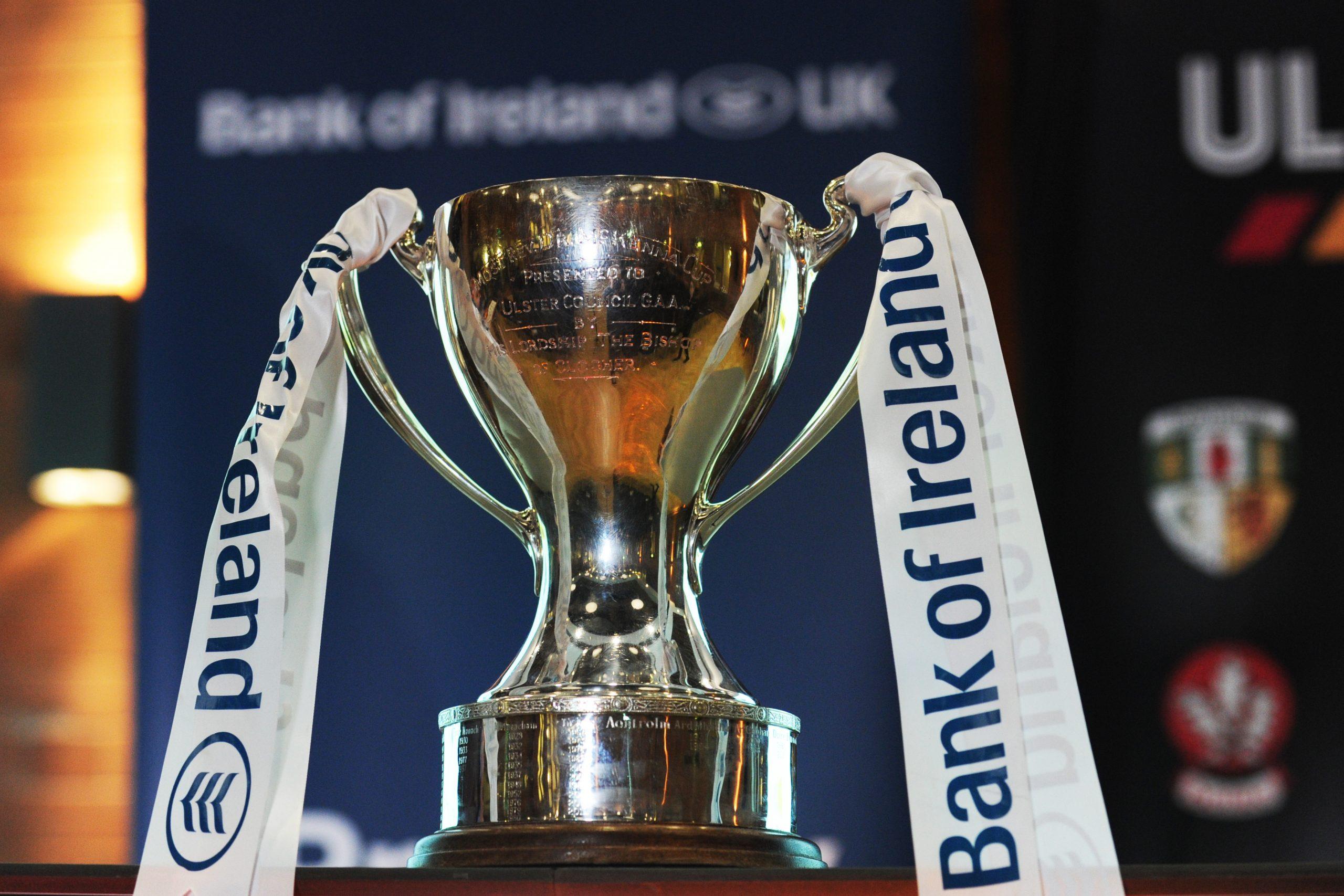 Ulster GAA statement on Bank of Ireland Dr McKenna Cup semi-finals