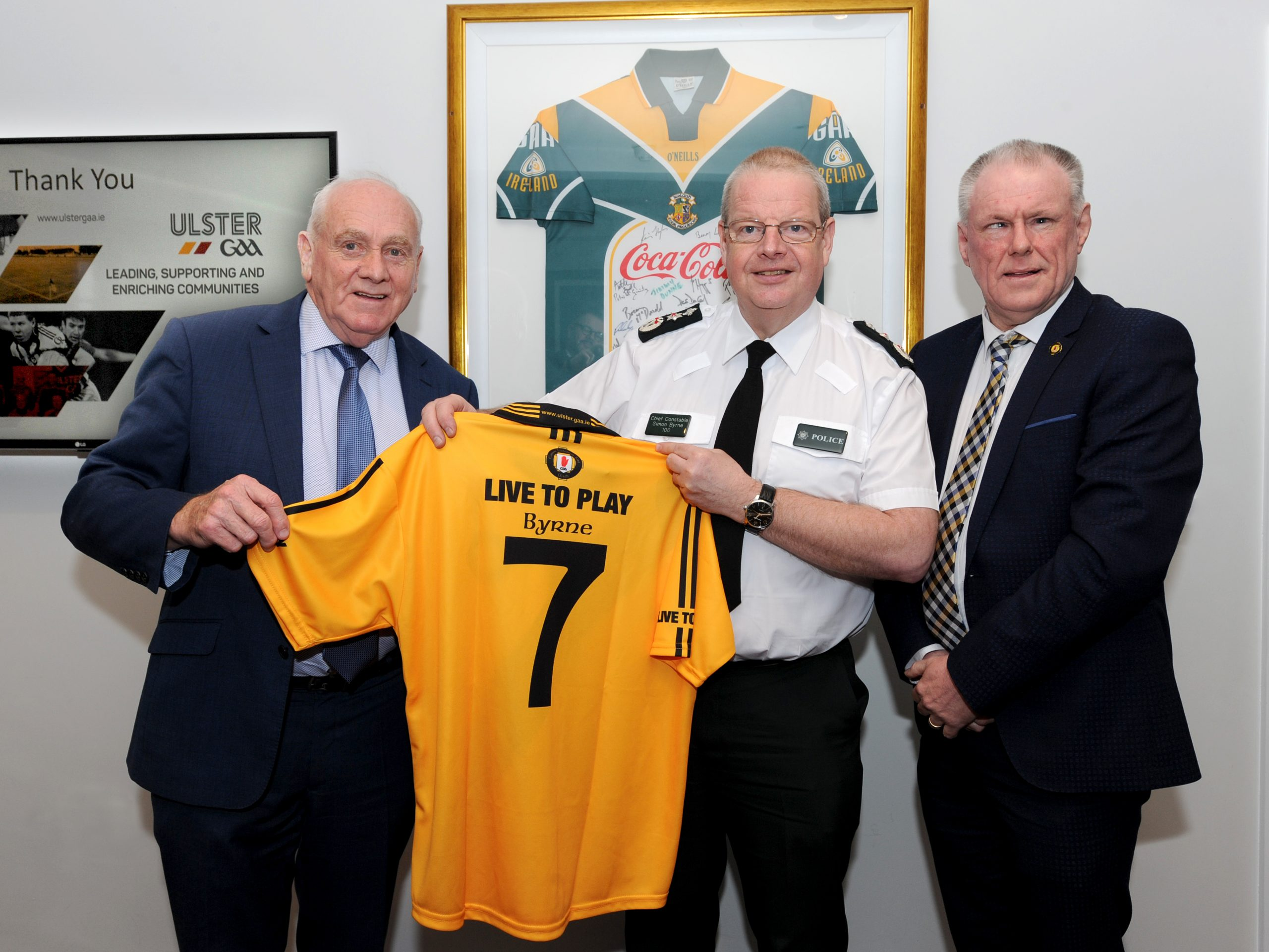 Ulster GAA meets with Chief Constable