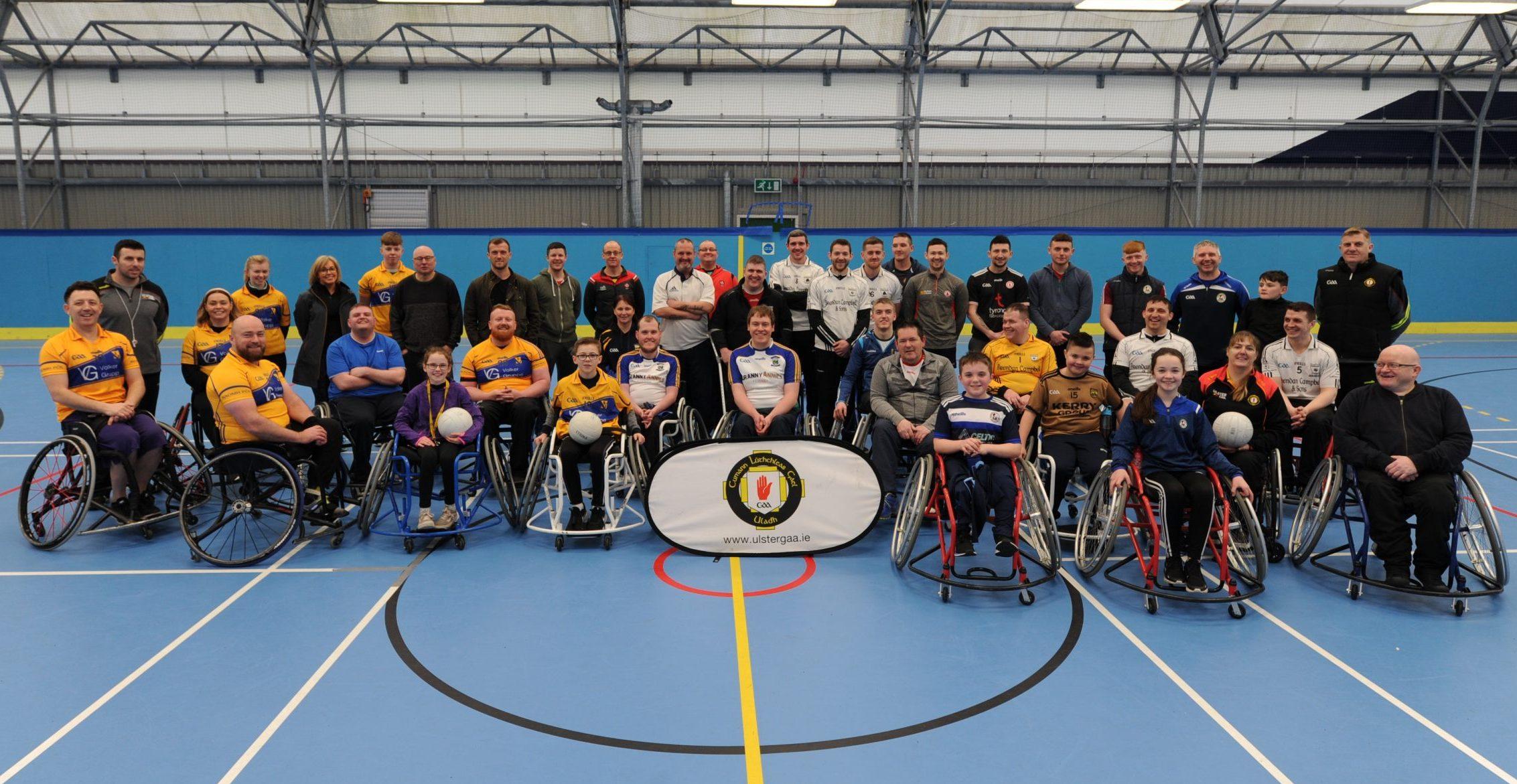 Ulster GAA host first ever Wheelchair Gaelic Football tournament