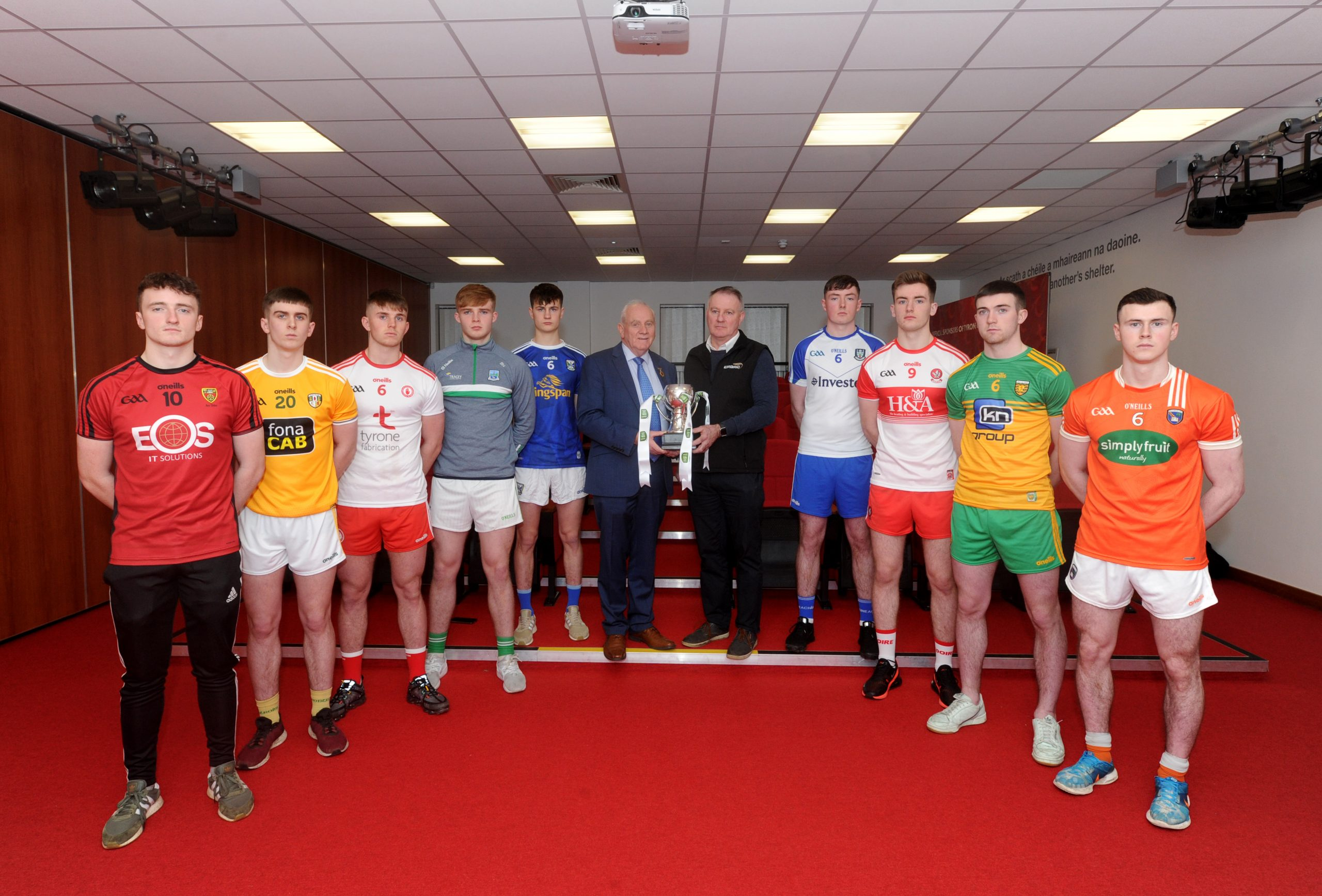 Wins for Antrim, Donegal, Down & Tyrone in EirGrid Ulster U20 Quarter Finals