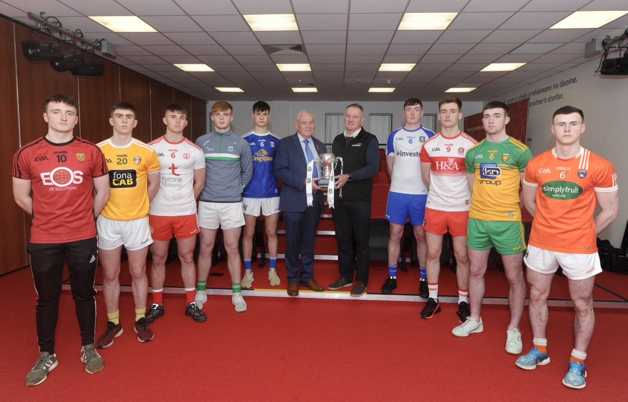 Official launch of EirGrid Ulster U20 Football Championship