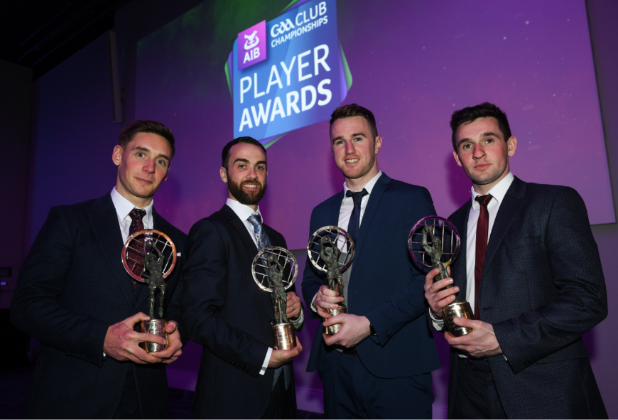 Kilcoo and Slaughtneil stars recognised at AIB GAA Club Awards