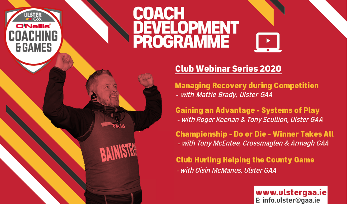Club Championship webinar series available to view online