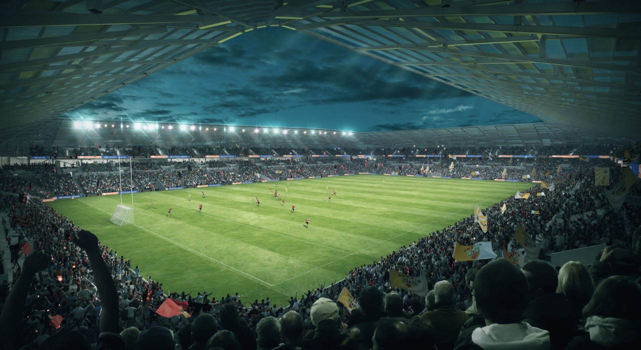 Ulster GAA welcomes historic Casement Park planning announcement