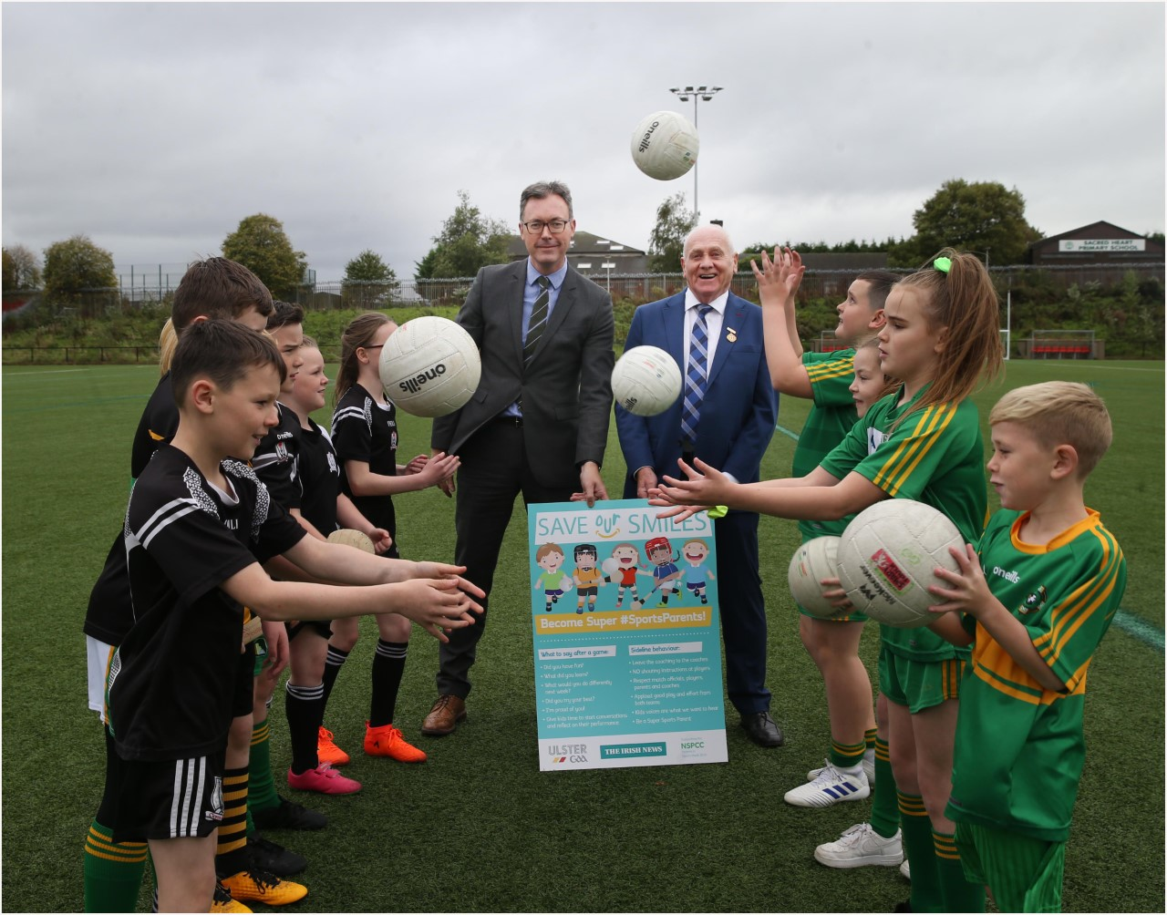 'Save our Smiles' launched to promote the important role parents play in clubs