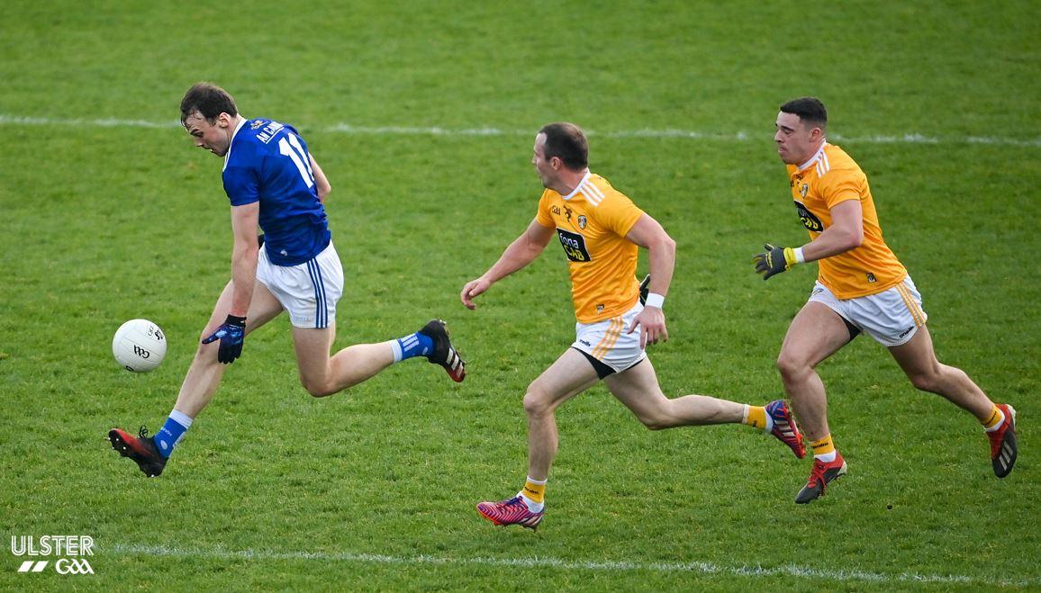 REPORT: Cavan overcome resilient Antrim to advance