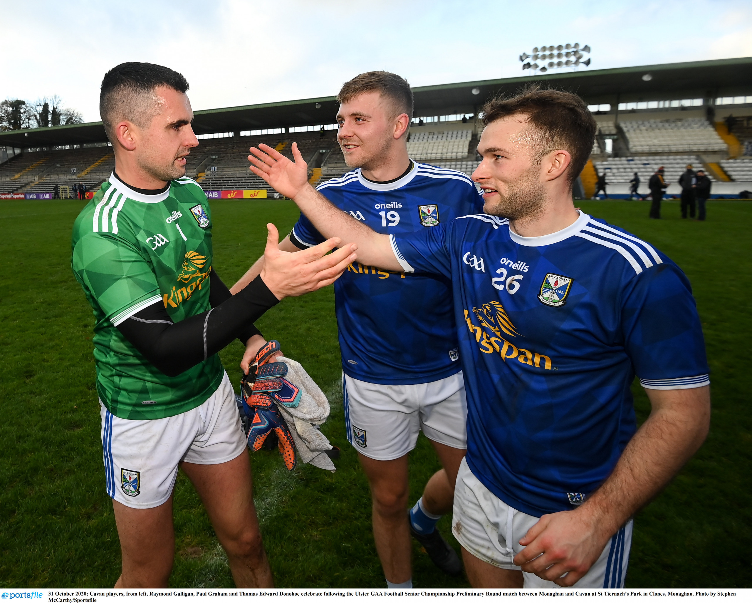 FEATURE: Captain Galligan keeping Cavan on course