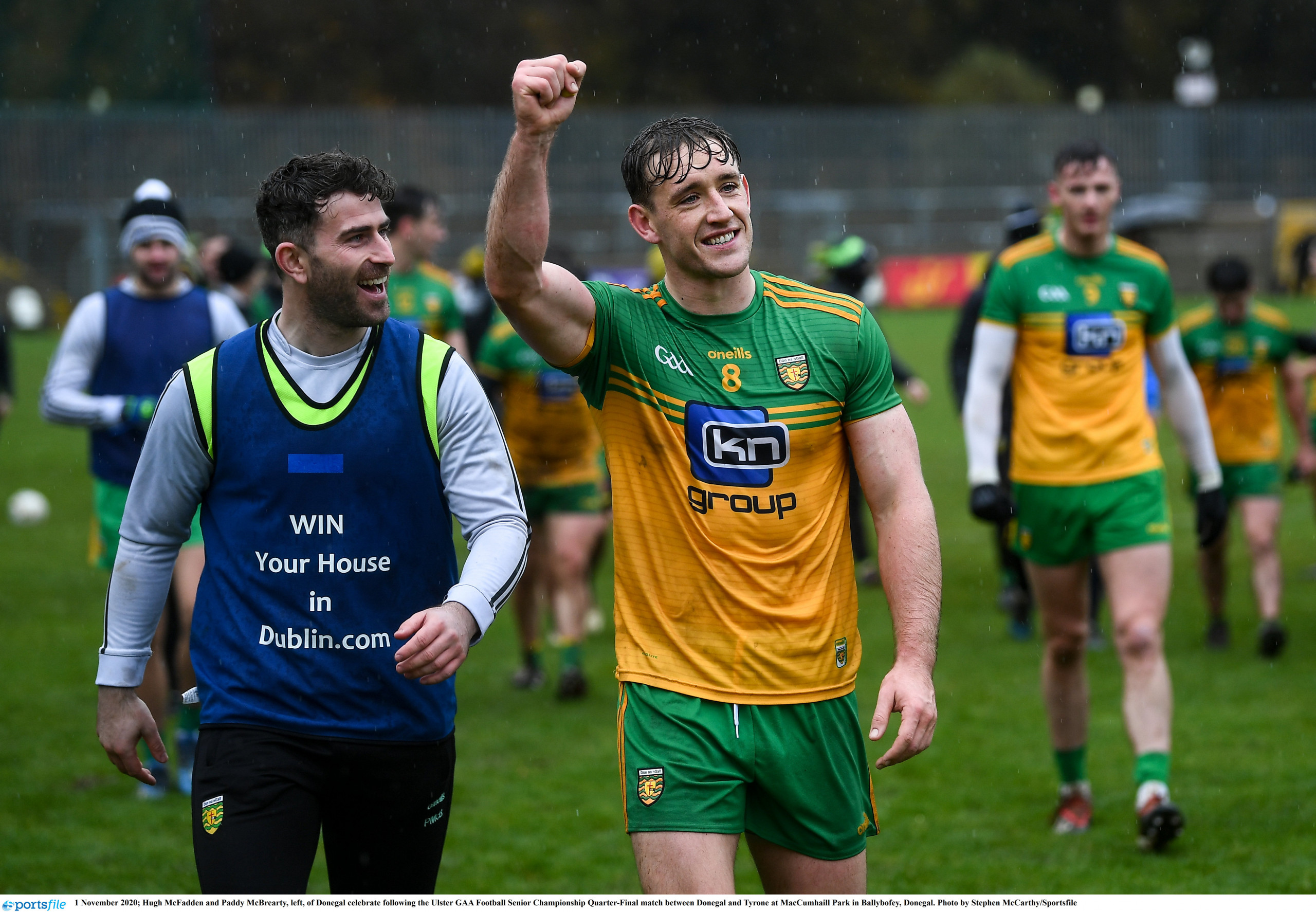 REPORT: Hard-fought win sees Donegal progress