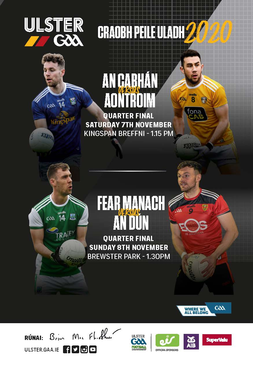 Check out the Ulster GAA Digital Programme for this weekend's games