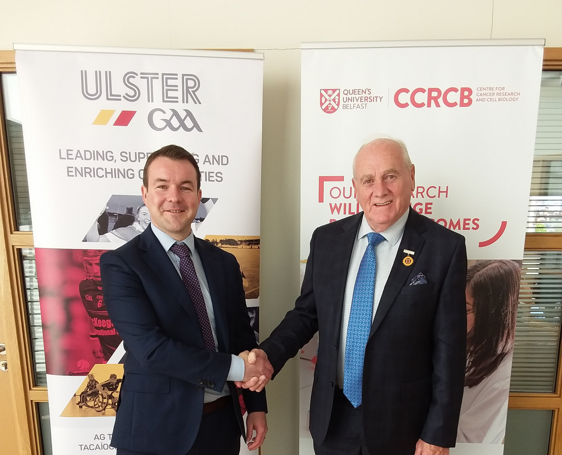 Help Ulster GAA support prostate cancer research