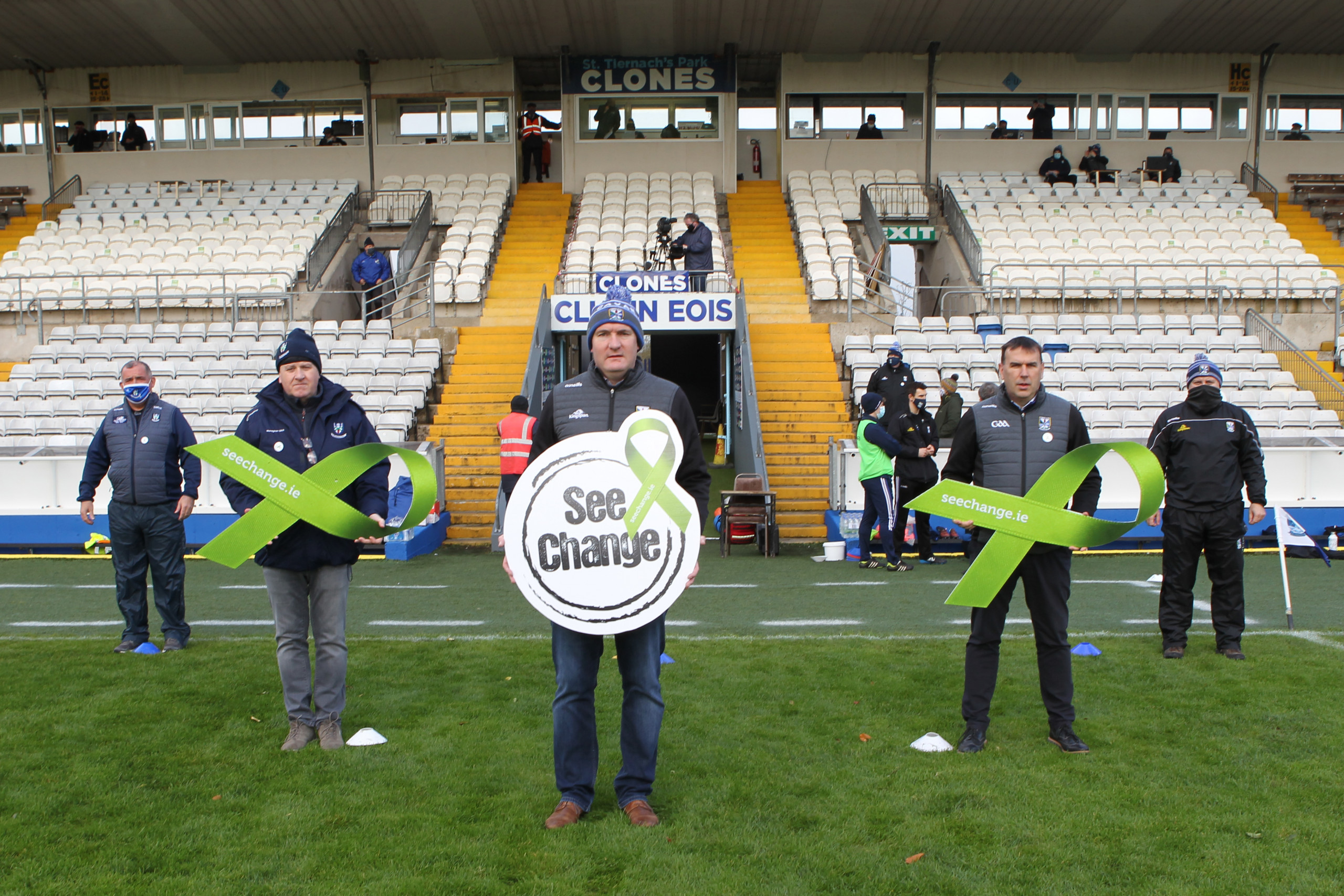 Cavan and Monaghan GAA support Green Ribbon Campaign