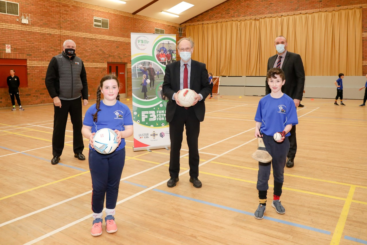 Education Minister praises Ulster GAA and IFA Sports Programme