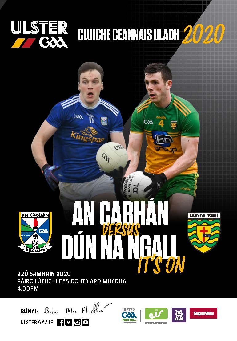 2020 Ulster Senior Football Championship Final Official Match Programme available to purchase