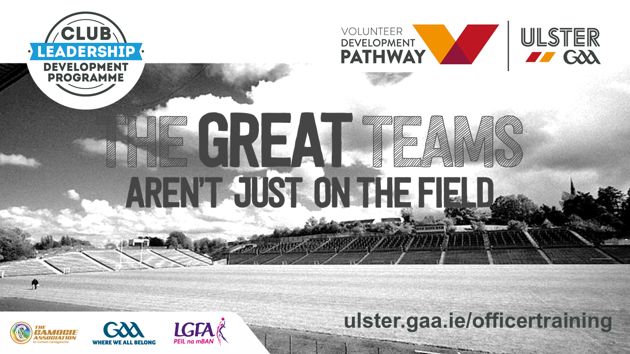 Ulster GAA launches plans for 2021 Club Officer Training