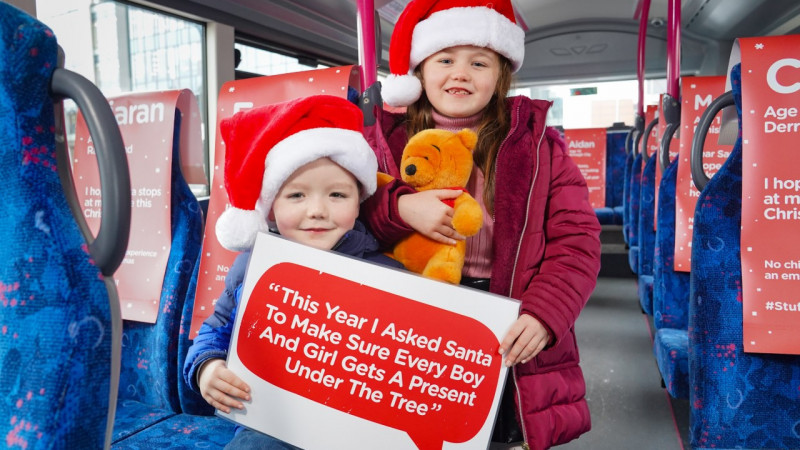 Ulster GAA getting behind Translink 'Stuff A Bus' appeal this Christmas