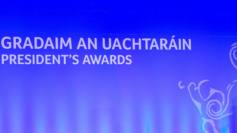 Donegal Gaels among the recipients for Gradaim an Uachtaráin 2021
