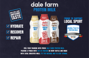 Dale Farm Protein Milk - Minor Football League Supporters