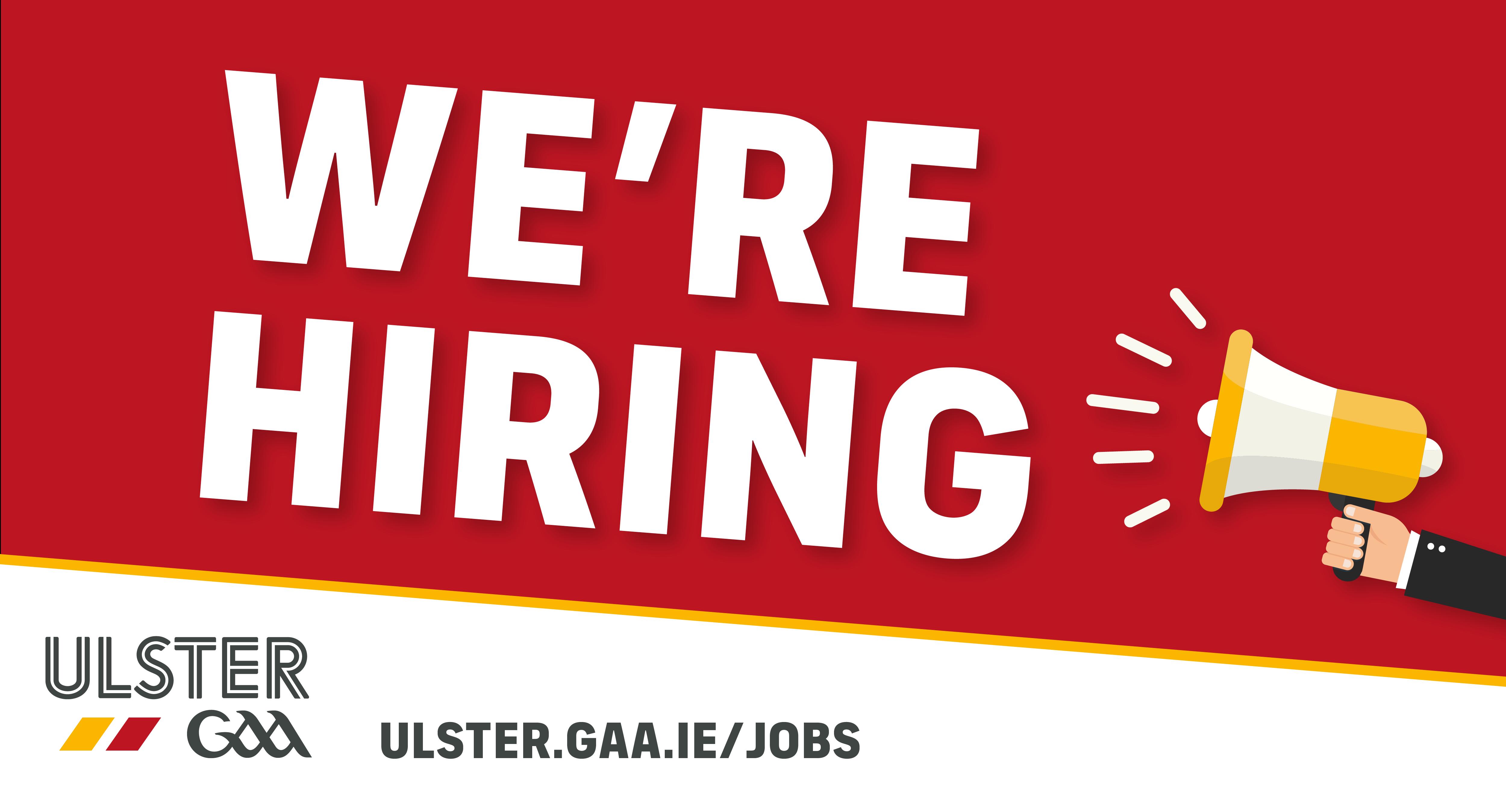Ulster GAA - Jobs